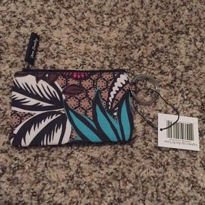 NWT Vera Bradley ID/Badge Holder w/zipper
